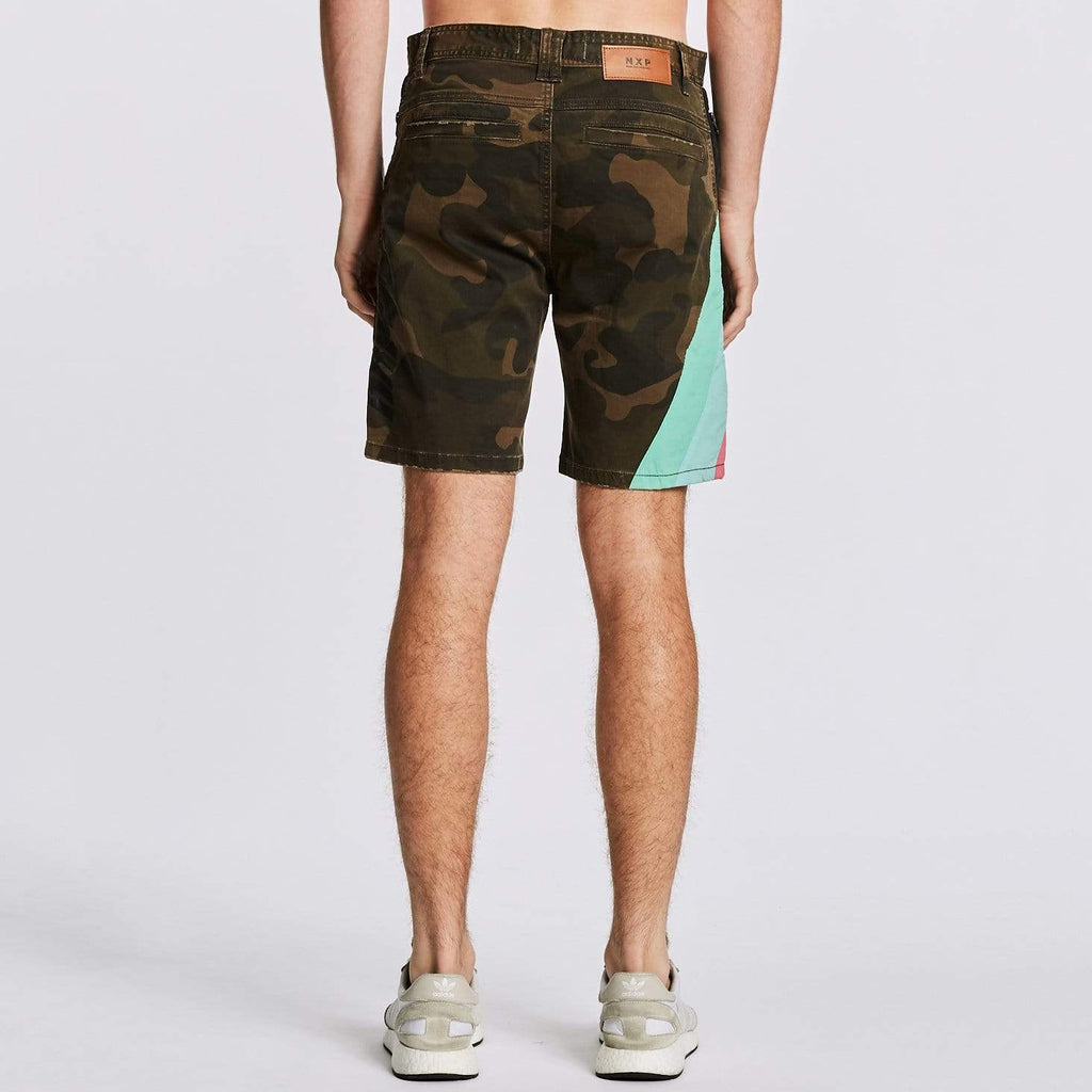 Hawkeye Tech Shorts Shanghai Camo