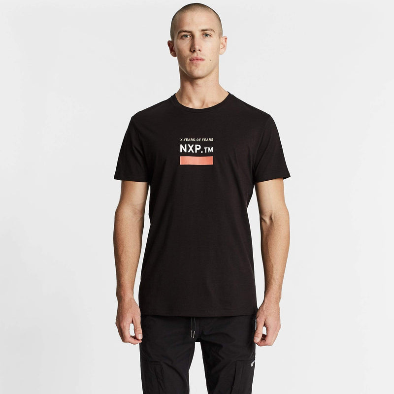 Machine Cape Back T-Shirt Jet Black