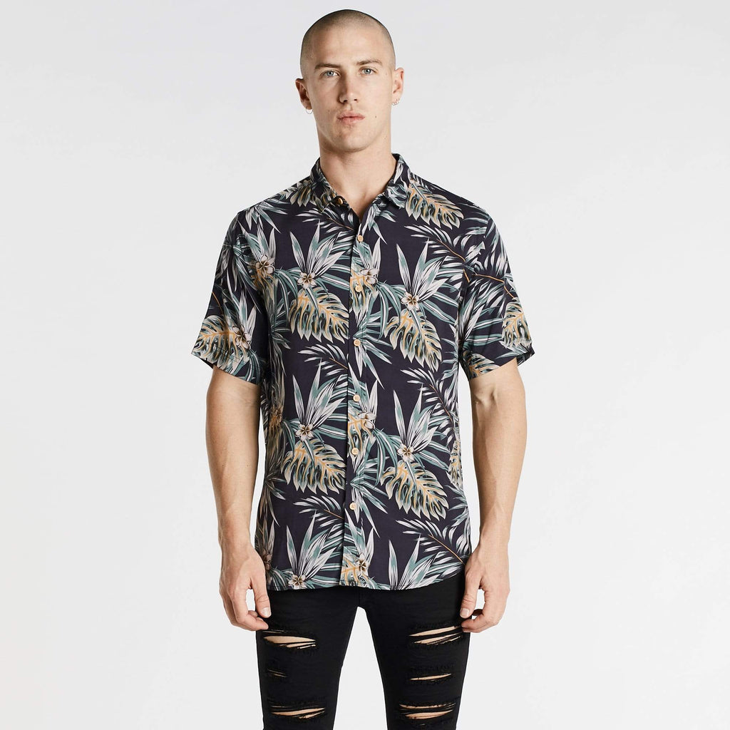 Marsh Standard Short Sleeve Shirt Floral Print