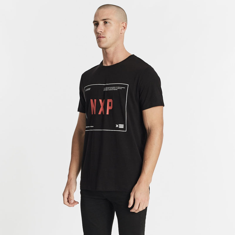 Movement Scoop Back T-Shirt Jet Black