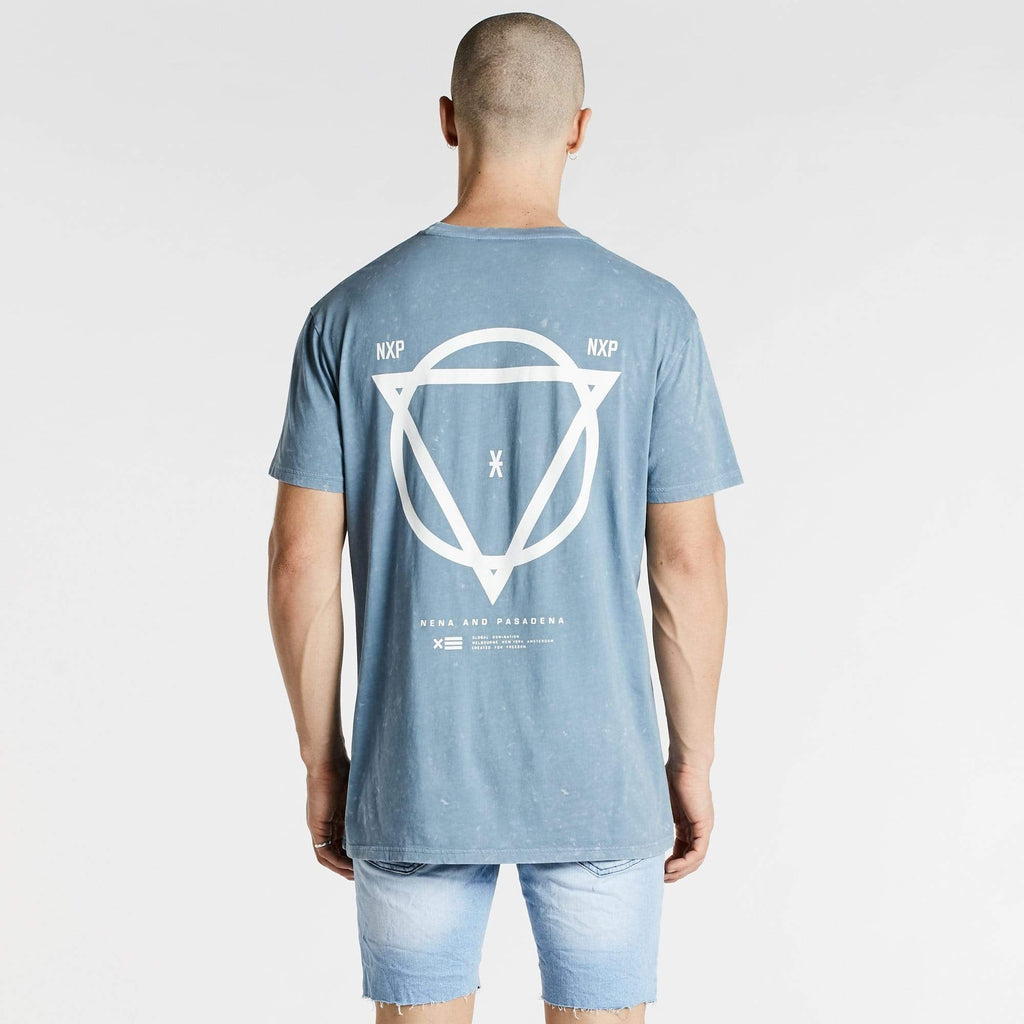 No Air Relaxed T-Shirt Acid Blue
