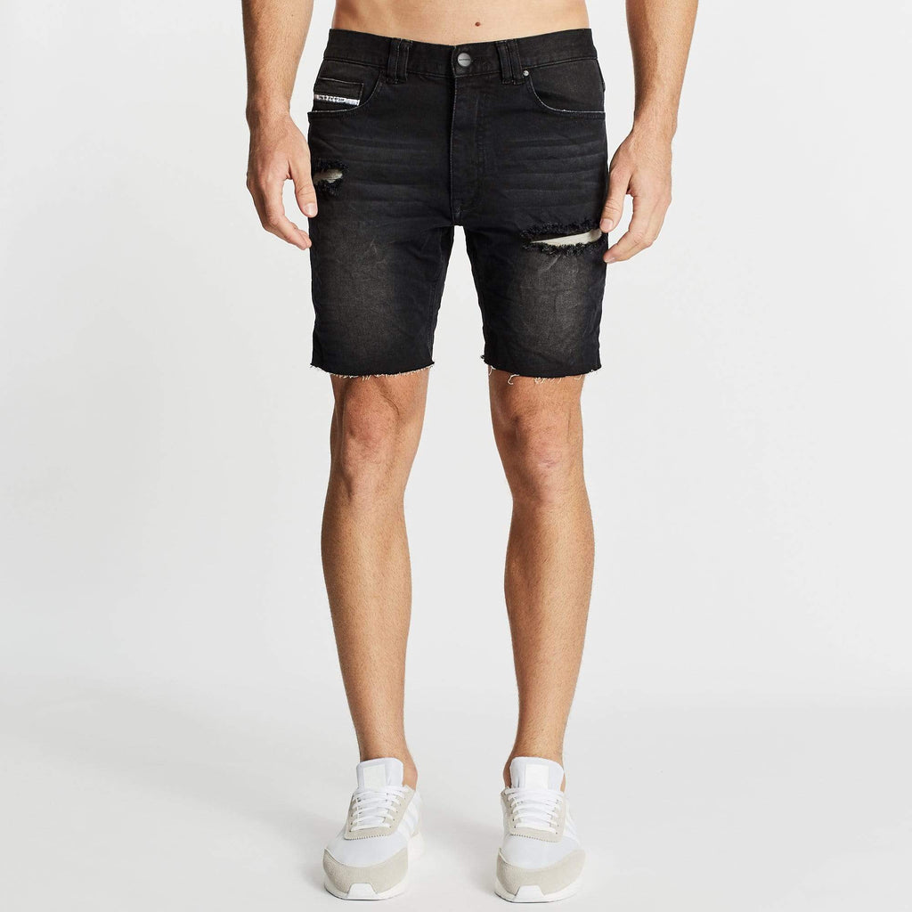 Rawlins Denim Short Heavy Metal Black