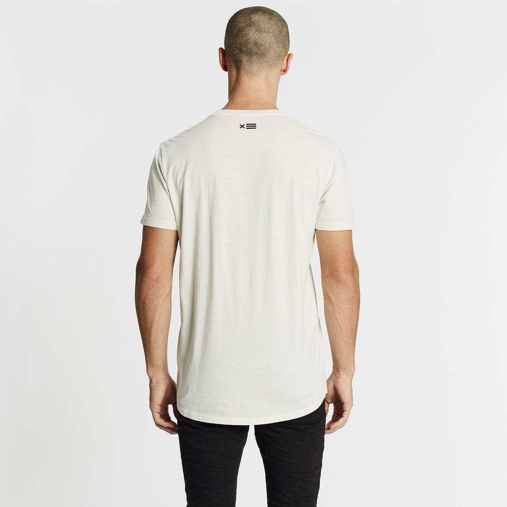 Remington Scoop Back T-Shirt Off White