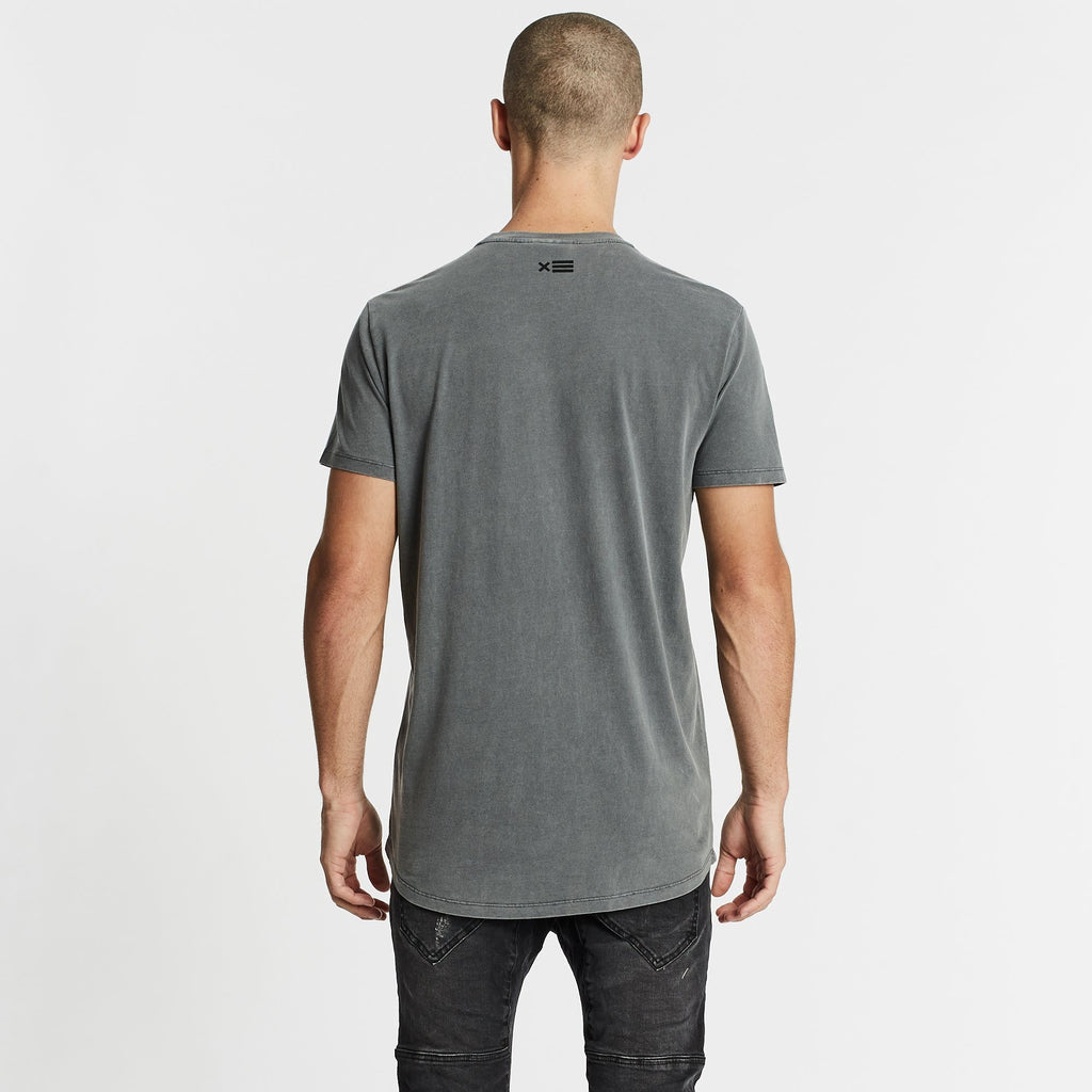 Remington Scoop Back T-Shirt Pigment Charocal