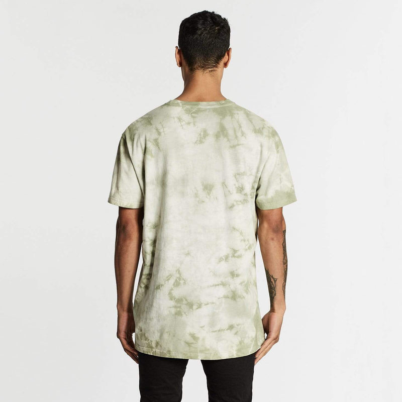 Revel Relaxed Fit T-Shirt Tie Dye Khaki