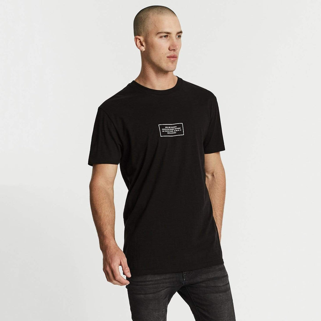Soundwave Relaxed Fit T-Shirt Jet Black