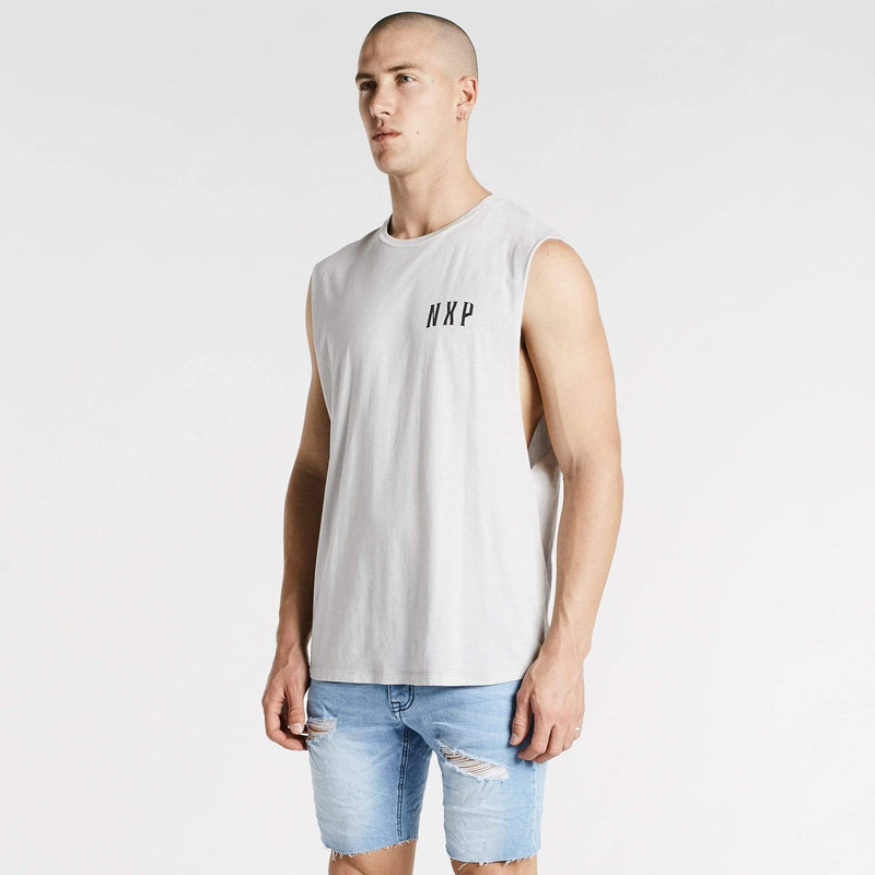 Take Over Scoop Back Muscle Tee Acid Rock
