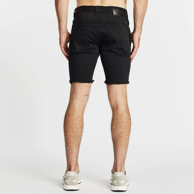 Warrior Casual Short Destroyed Black