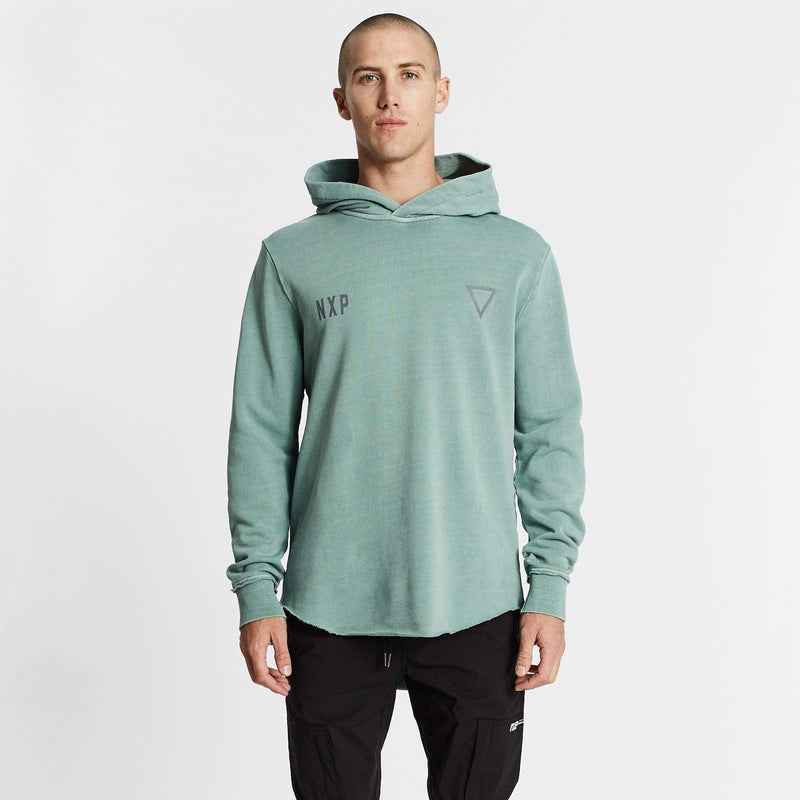 Winchester Dual Curved Hoodie Pigment Teal