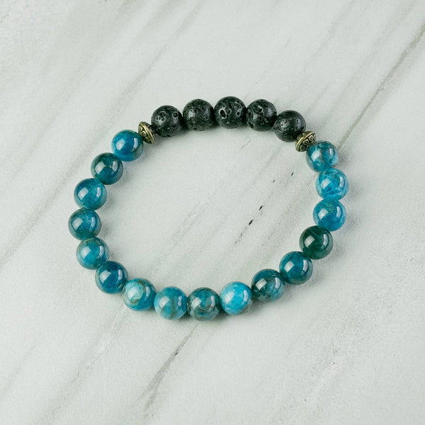 Apatite Aromatherapy Essential Oil Diffuser Bracelet