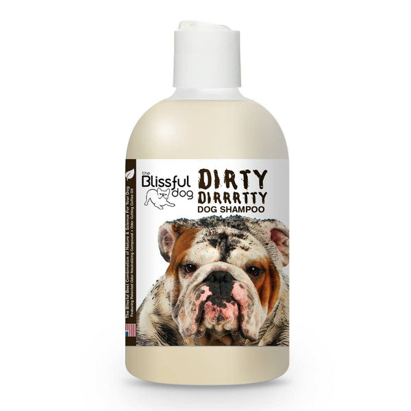 8 oz Dirty Dirrrtty Dog Shampoo - Rock Creek Soaps