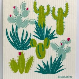 Cacti Swedish Dishcloth - Rock Creek Soaps
