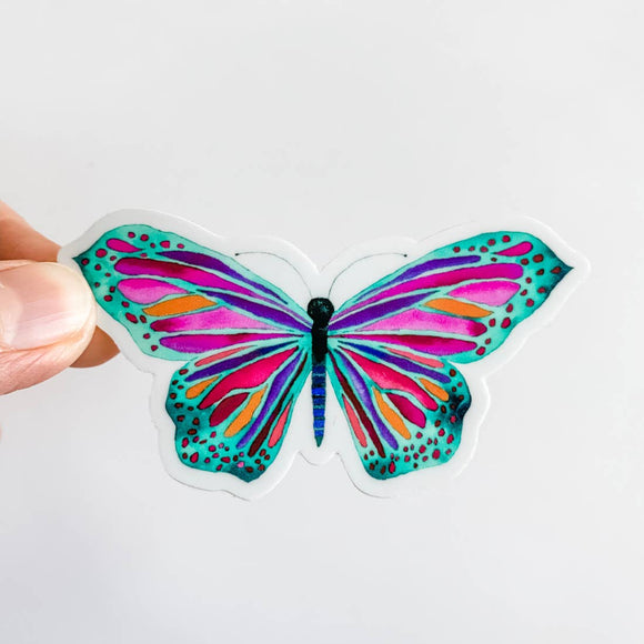 Watercolor Butterfly Sticker