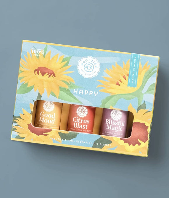 The Happy Essential Blend Oil Collection