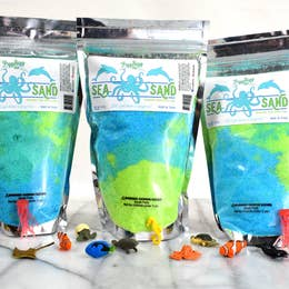 Sea Sand - Kids Bath Salts - Rock Creek Soaps