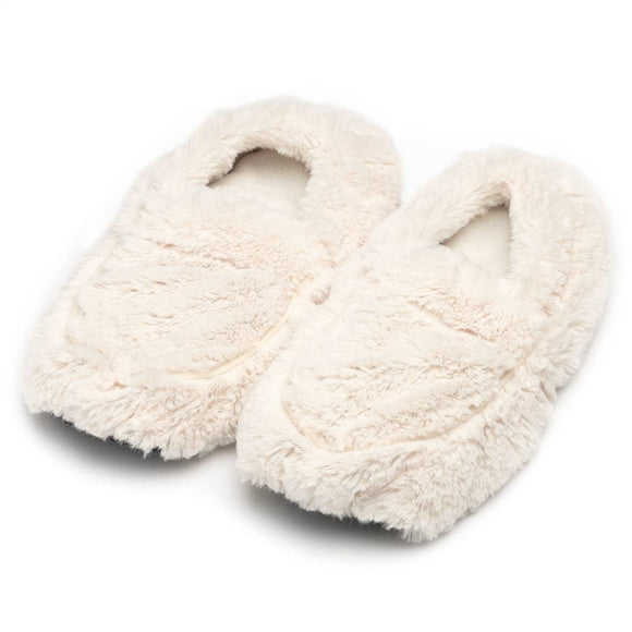Cream Slippers Warmies