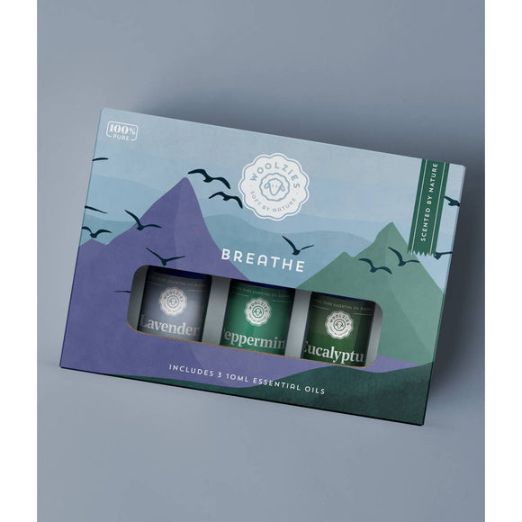 The Breathe Essential Blend Oil Collection