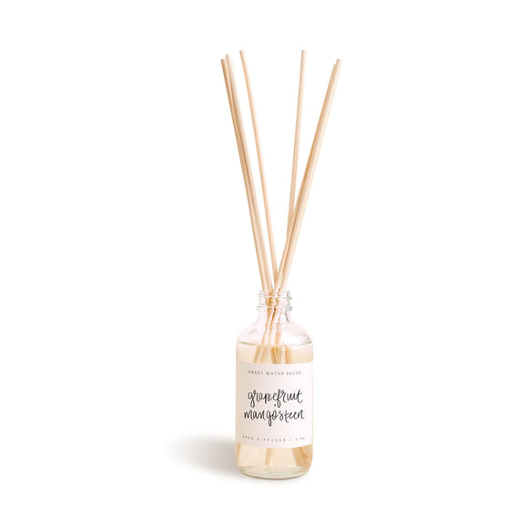 Grapefruit and Mangosteen Reed Diffuser - Rock Creek Soaps