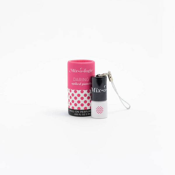 Daring MINI Roll-On Perfume (1 mL) Keychain - Rock Creek Soaps
