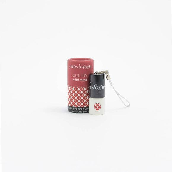 Sultry Mini Roll-On Perfume Keychain (1 mL) - Rock Creek Soaps