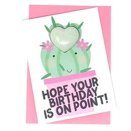 Hope Your Birthday is On Point! Bath Card - Rock Creek Soaps