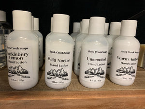Hand Lotion - Rock Creek Soaps