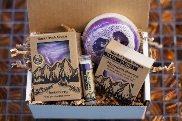 Huckleberry Gift Set