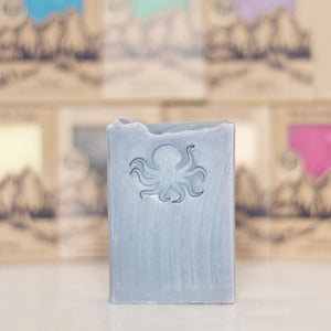 OCTOPUS <p><h6><I>Warm sandalwood, crisp wild currants, tonka beans & Tahitian vanilla</i></h6></p> - Rock Creek Soaps