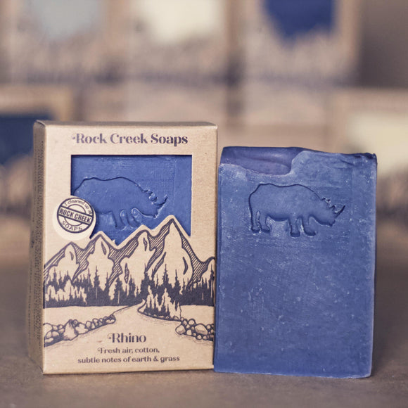 At The Zoo Soap Collection <p><I>Rhino</i></p> - Rock Creek Soaps
