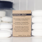 SHOWER + BATH TABLETS<p><h6><I>Set of four in Clarity</i></h6></p> - Rock Creek Soaps