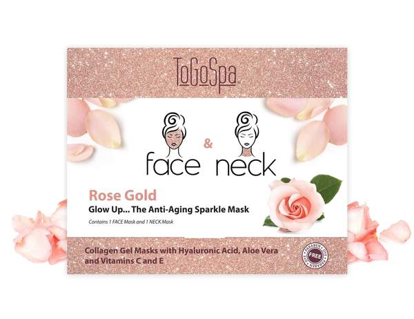 To Go Spa | Rose Gold Face and Neck - Rock Creek Soaps