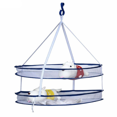 2 layers Foldable Drying Rack