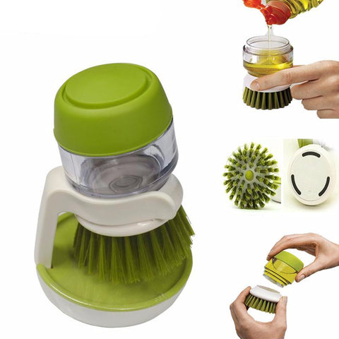 Automatic Pot Brush