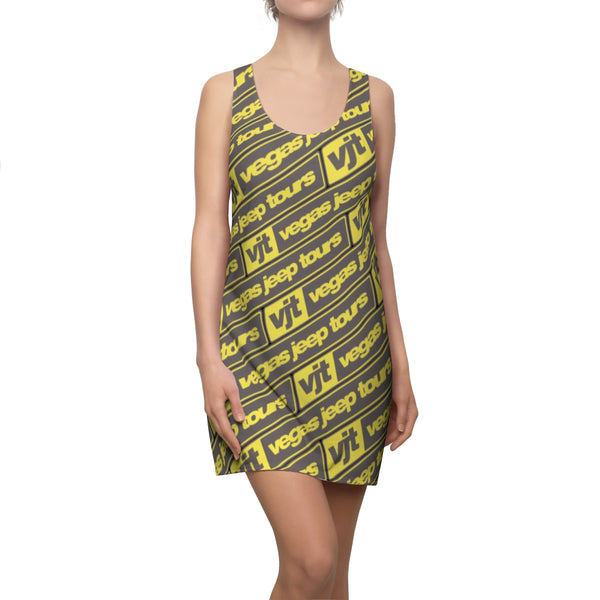 VJT Women's Cut & Sew Racerback Dress