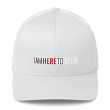 I Am Here To Win Flex-Fit Cap