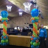 Used alone or used for the foundation of connected balloon arches and other decor, pillars are the mainstay of classic balloon decor