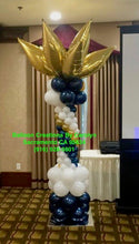 Balloon Pillars and Columns