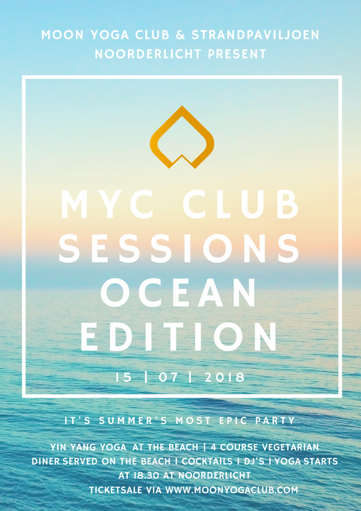 15 juli MYC Club Sessions - Ocean edition