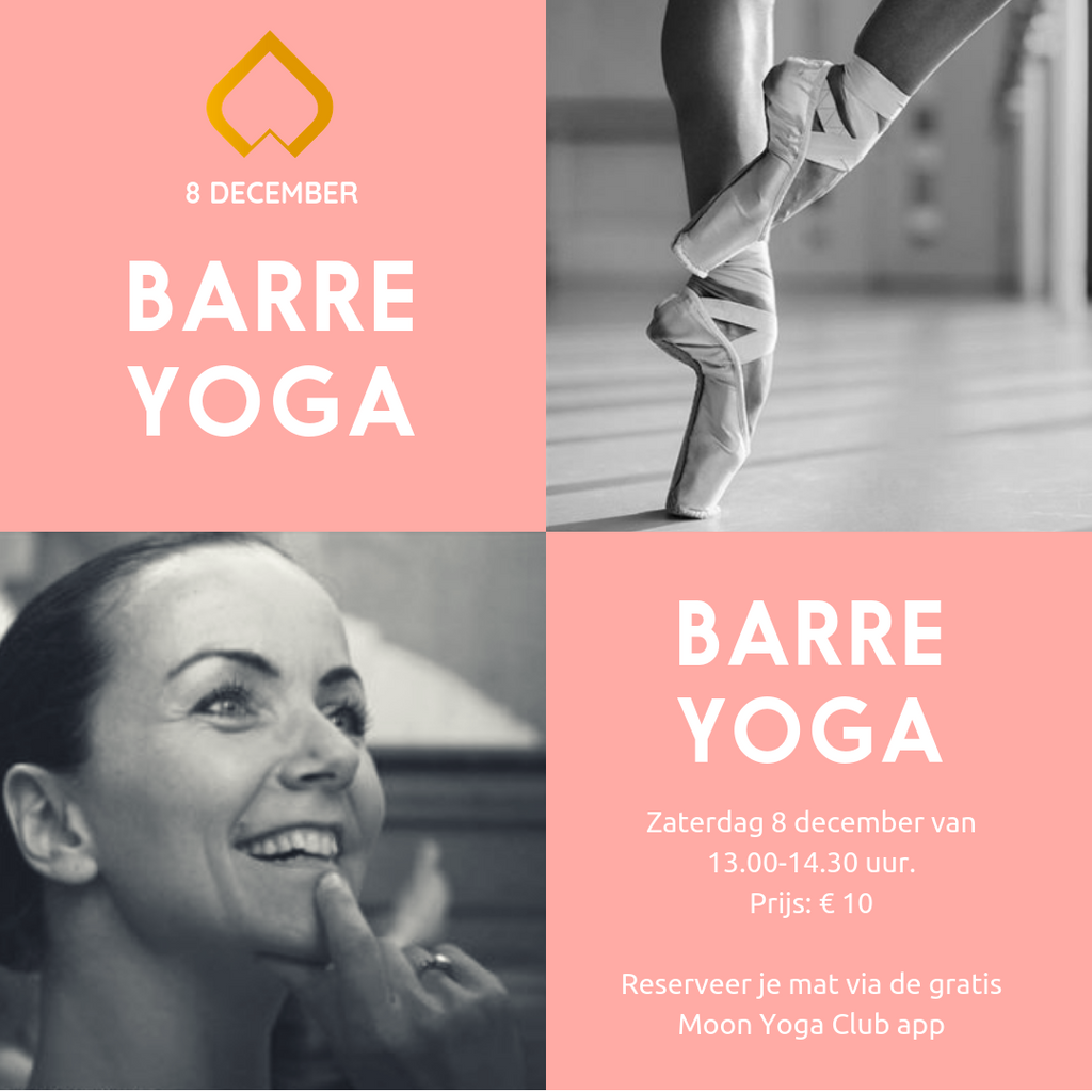 8 december: Barre Yoga