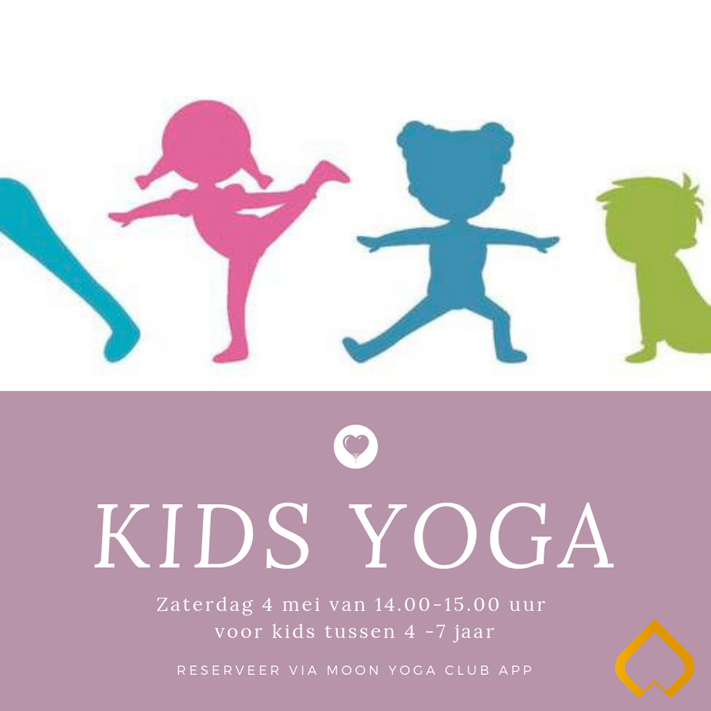 4 mei: Workshop Kids Yoga