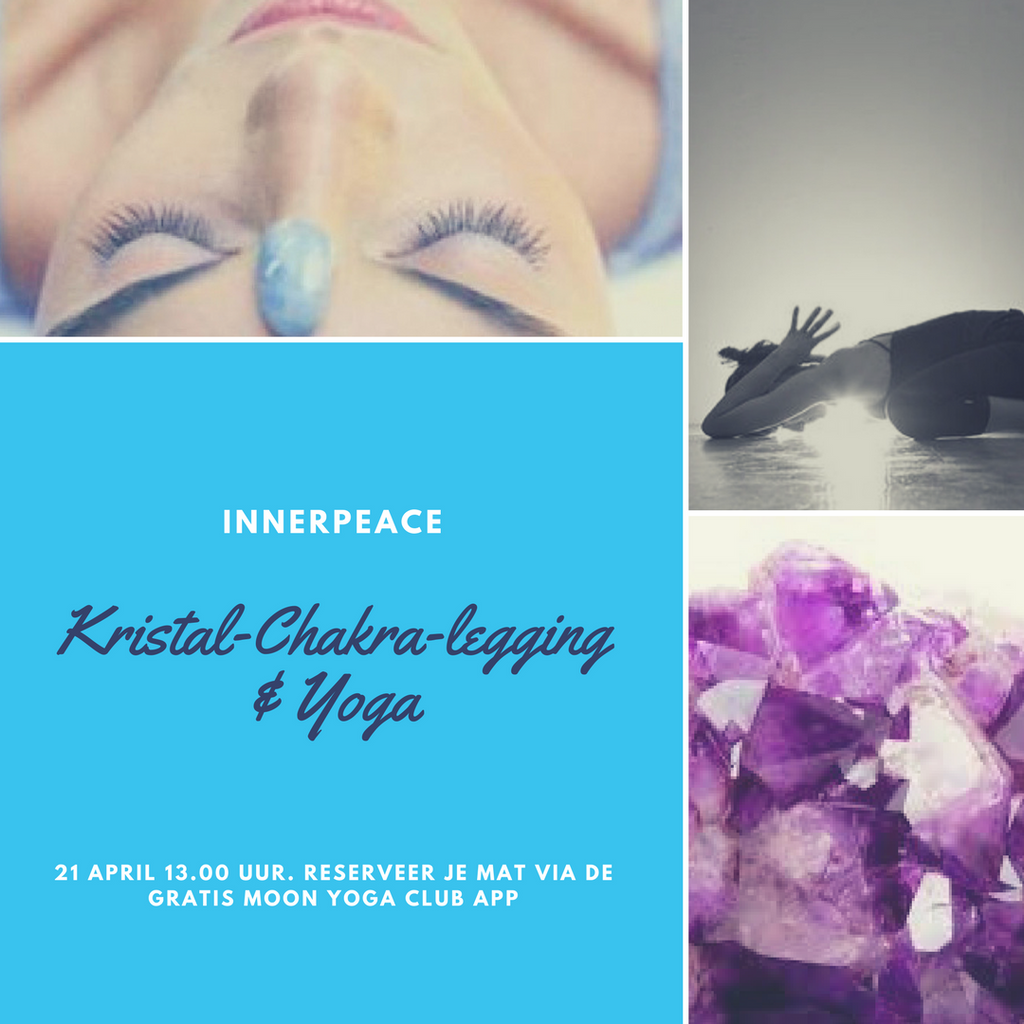 21 april: Kristal Chakra legging & Yoga