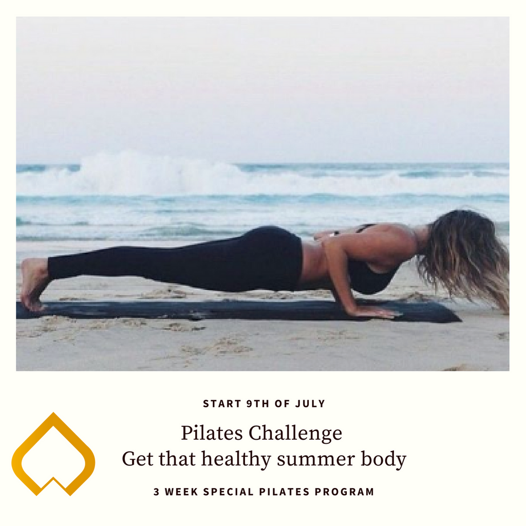 9 juli: Pilates Challenge - Get that healthy summer body