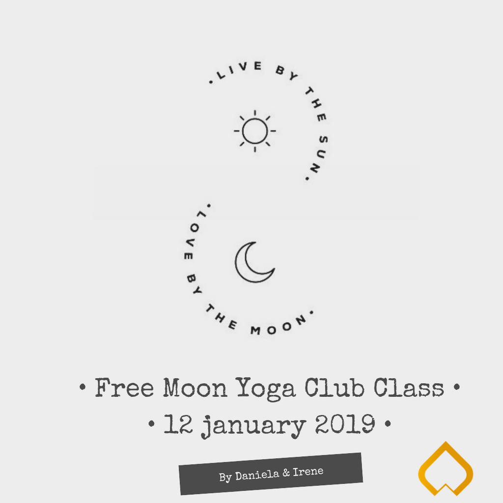 12 januari: Free Moon Yoga Club Class