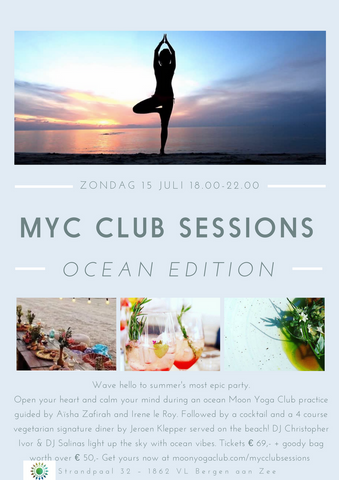 MYC Club Sessions Ocean edition