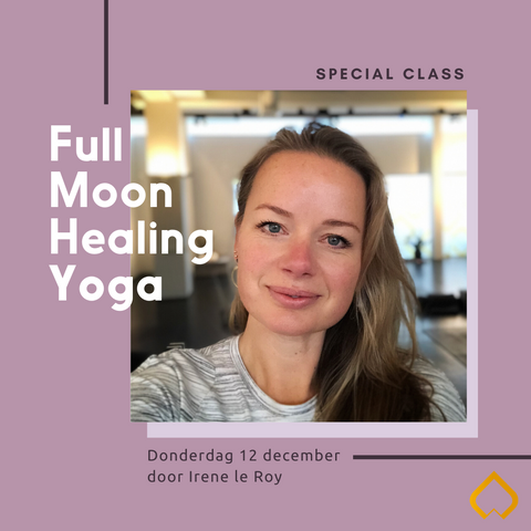 Irene le Roy - Full Moon Healing Yoga