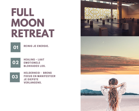 Full Moon Healing retreat