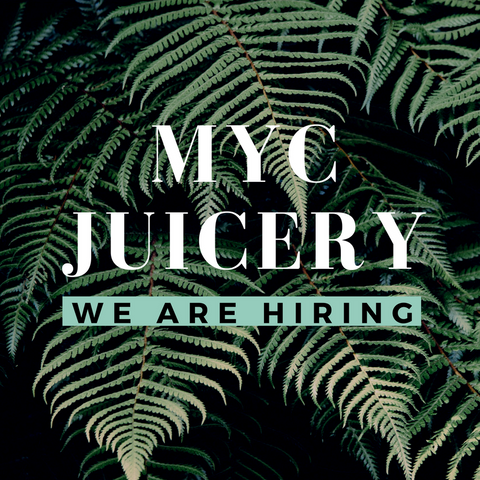 MYC Juicery We are hiring