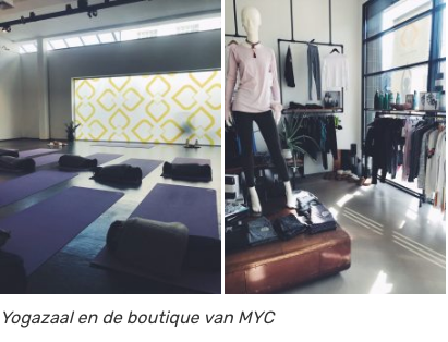 Yoga Zaal en Boutique Moon Yoga Club