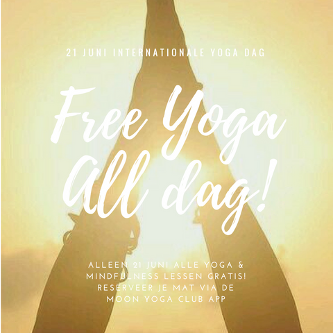Free Yoga all day!