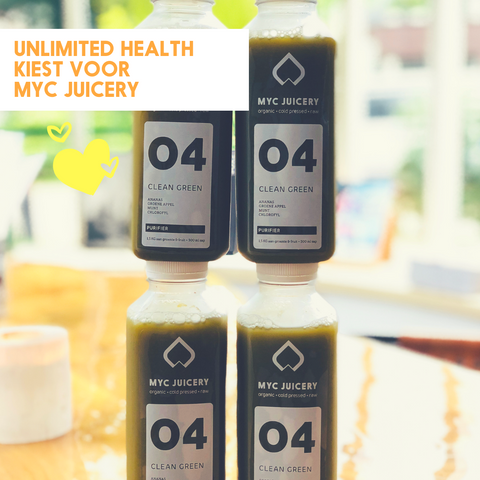 Unlimited Health kiest voor MYC Juicery!